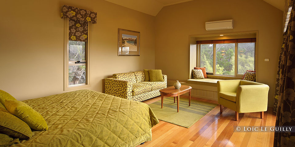 Freycinet Lodge - hotel room