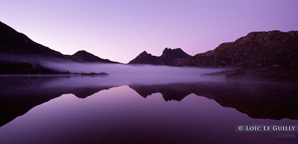 Cradle Mountain dusk, Dove Lake