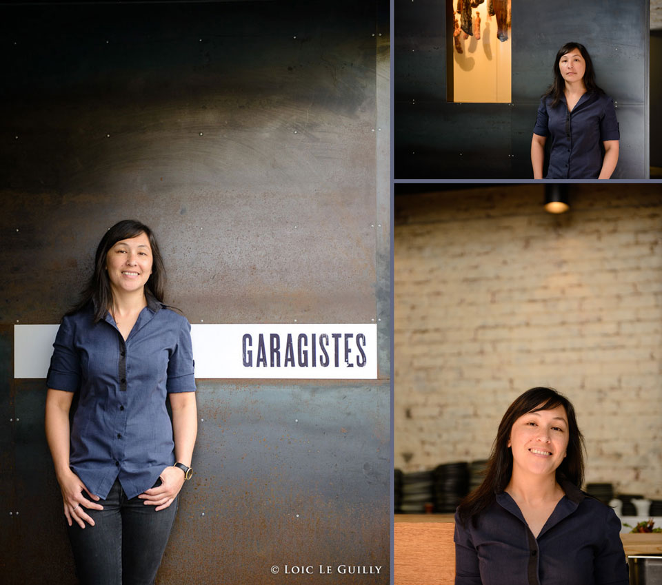 portraits of Katrina at Garagistes