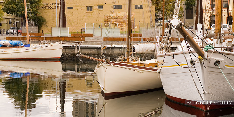 Hobart harbour boats