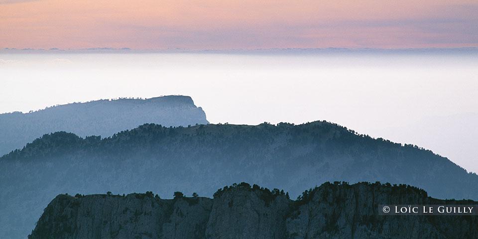 Mt Aiguille sunset