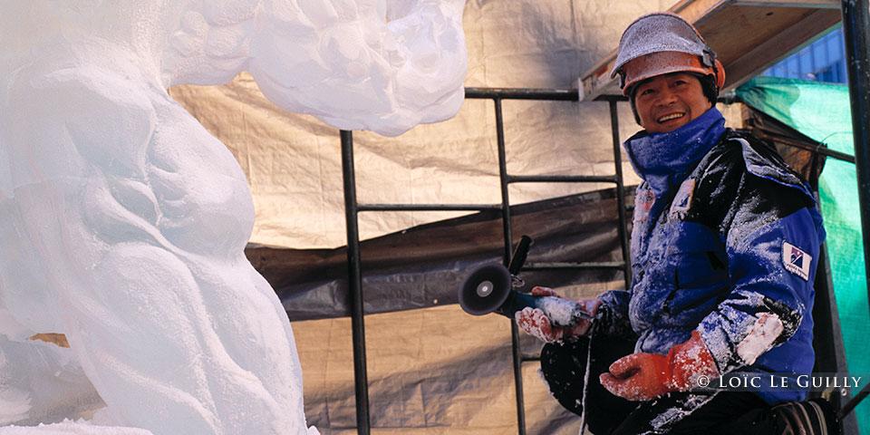 ice sculptor Anchorage