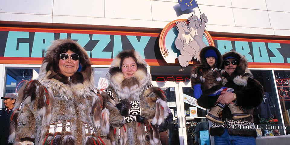 Eskimos in Anchorage