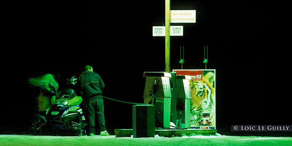 skidoo petrol station