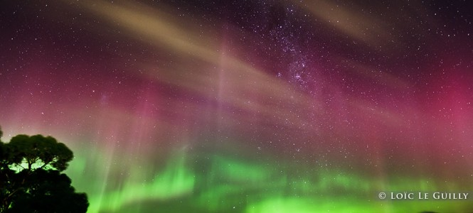 Aurora australis in Hobart… what a show !