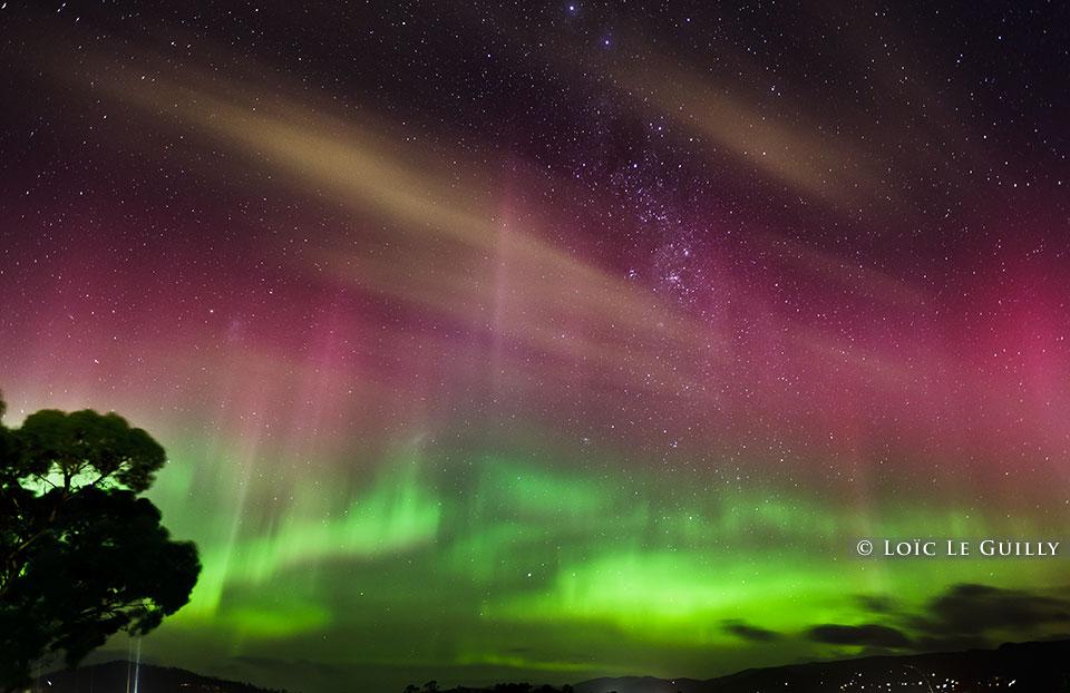 aurora australis photograph