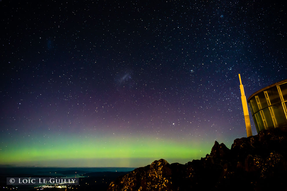 A month of Auroras in Tasmania    by Loic Le Guilly