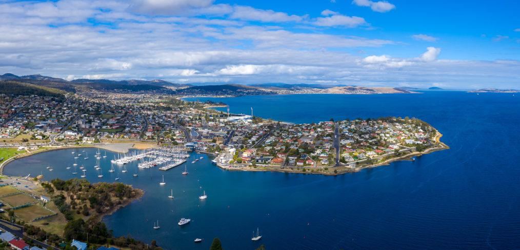 Bellerive aerial panorama