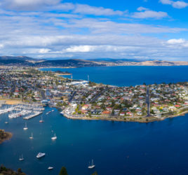 Bellerive aerial panorama